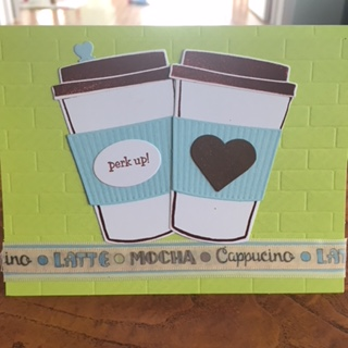 Perk Up! Coffee Card