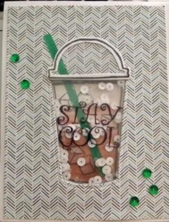 Iced Coffee Shaker Card