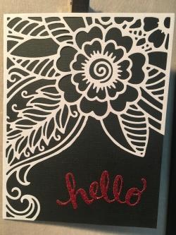 BW Bloomtangled hello 1
