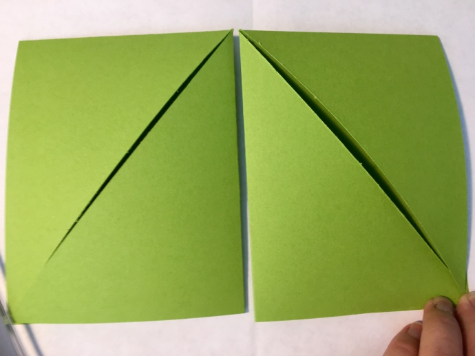 Fun Fold cards from single sheet of paper