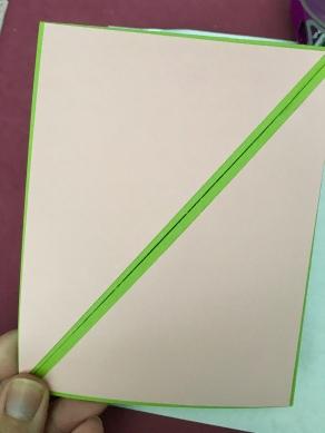 Fun fold card second layer