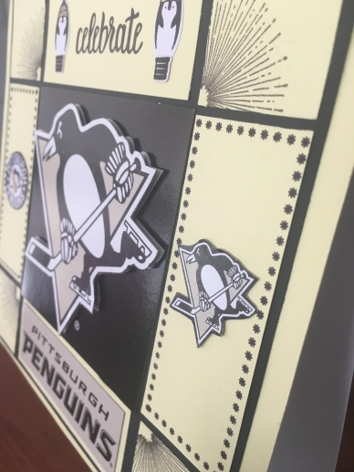 pittsburgh penguins home decor sampler closeup