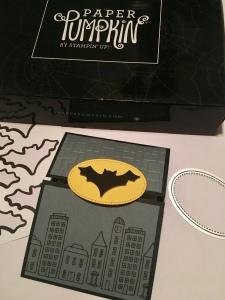 trifold batman signal card tall layout