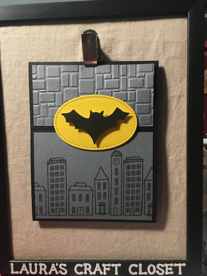 Tri-Fold Batman Card