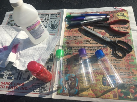 supplies for diy alcohol ink