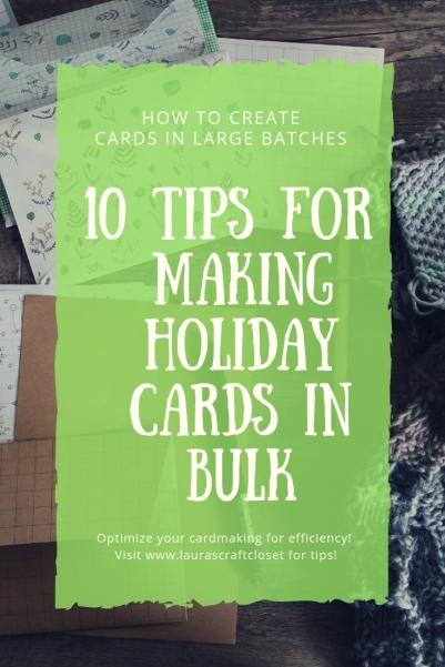 10 tips for creating bulk cards pinterest