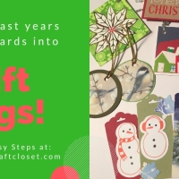 Gift Tags You Can Make From Last Years Holiday Cards