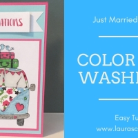 Just Married VW Van Card - Love Challenge with Crafting By Designs